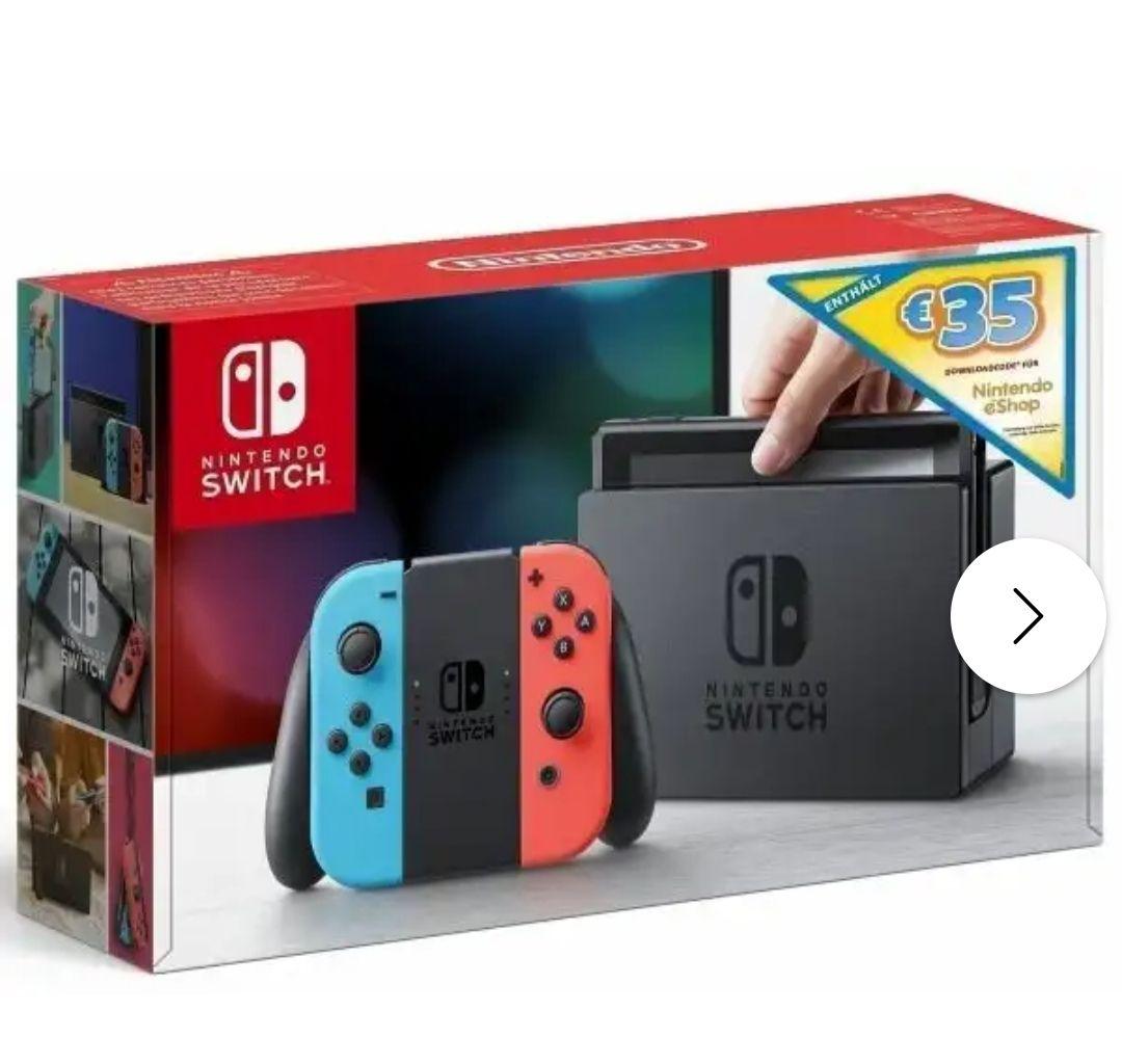 Nintendo Switch mit 35€ eShop Gutschein