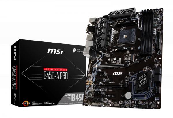 MSI B450-A Pro für 71,90€ (Ausstattung vergleichbar mit MSI B450 Tomahawk)