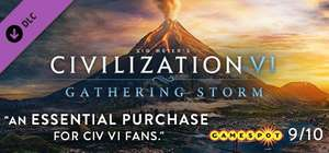 Sid Meier's Civilization VI: Gathering Storm (Steam) 2Game.com oder Rise and Fall 7,08€