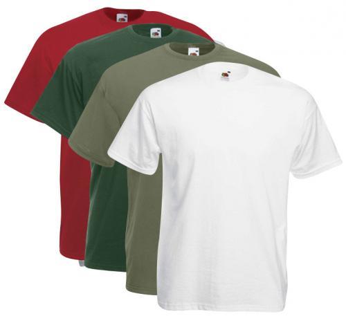 10 Fruit of the Loom T-Shirt Sets in vielen Farbkombinationen -wieder verfügbar- für 20€ inkl. VSK./ für Neukunden für 15€ inkl. VSK (+ 6-12% Cashback bei qipu)