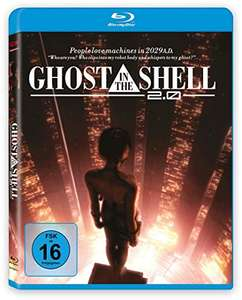 Ghost in the Shell 2.0 (Blu-ray) für 5,99€ (Amazon Prime)