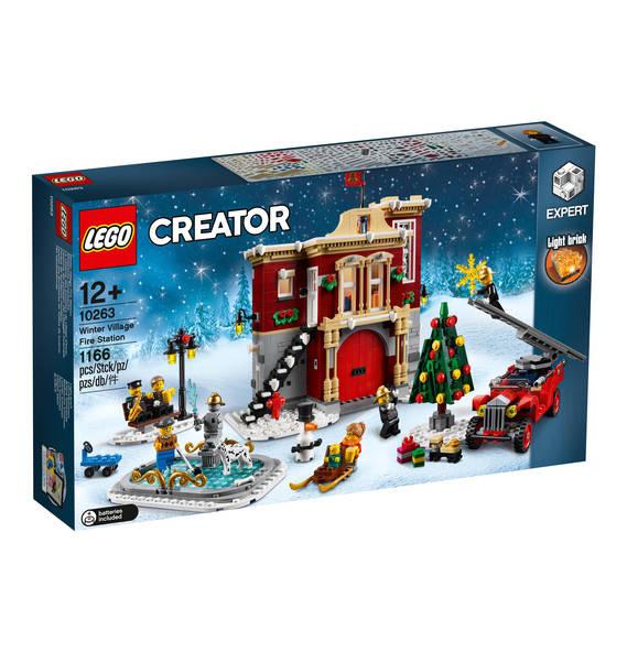 Lego Creator Expert Winterliche Feuerwache 10263 im freien Handel