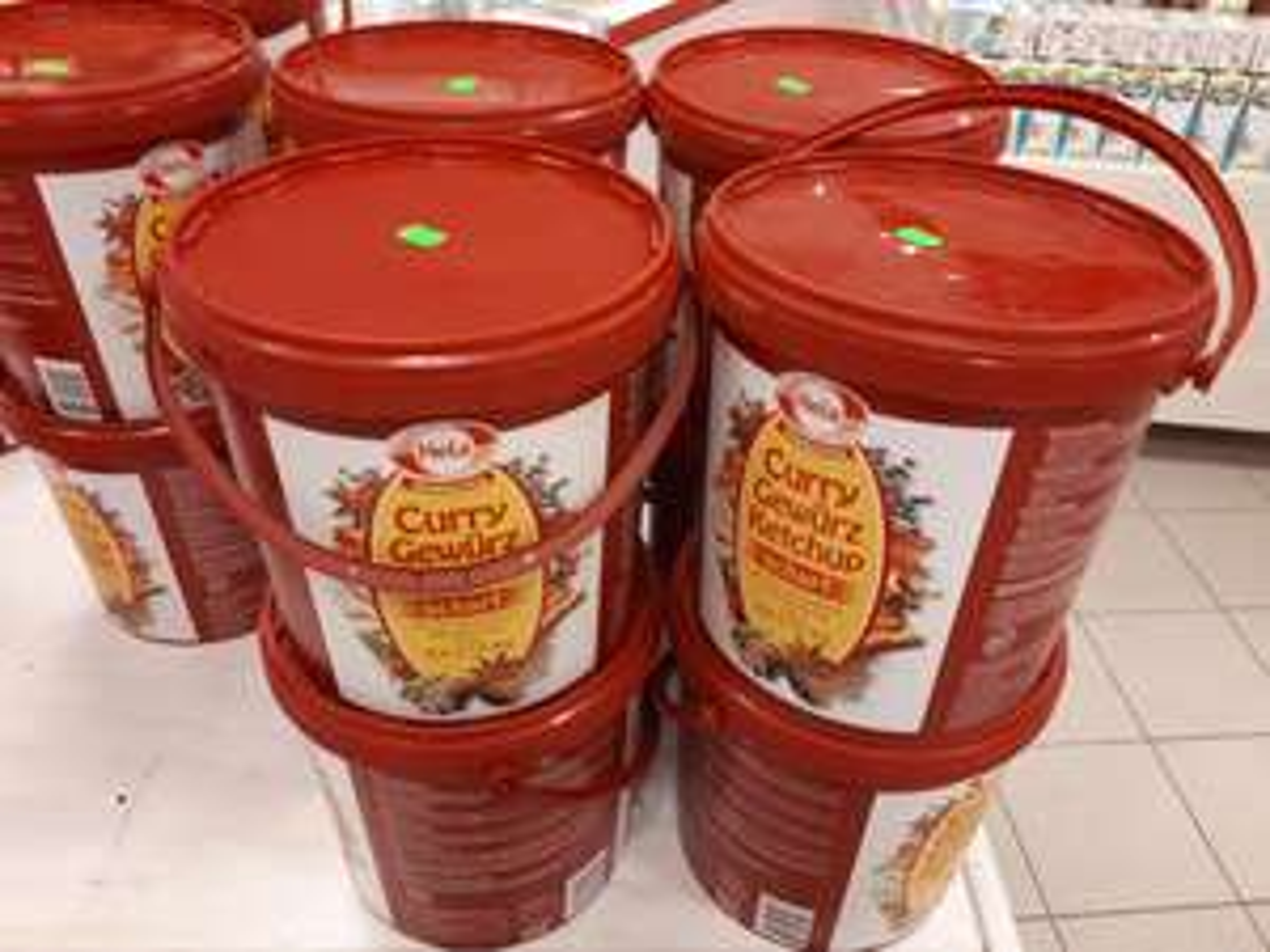 Hela Curry Gewürzt Ketchup Scharf 10kg  Sir Plus (Lokal Berlin)