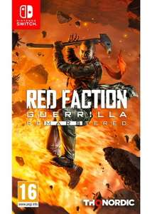 Red Faction: Guerilla - Re-Mars-tered (Switch) für 22,26€ (Base.com)