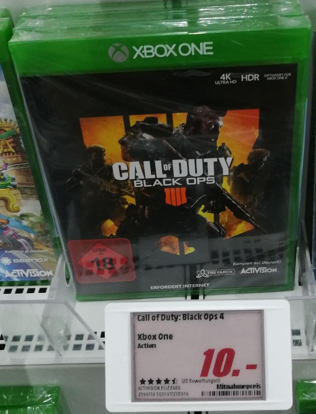 [Lokal Rheine] Call of Duty: Black Ops 4 10€ (Xbox One)