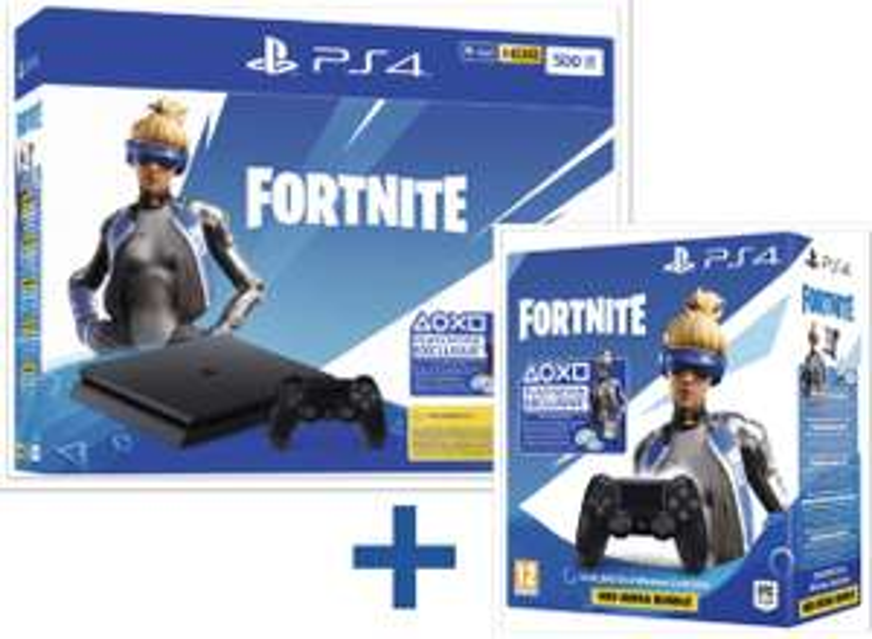 Neues Bundle: PS4 500GB Fortnite Neo Versa Bundle + Fortnite Neo Versa DUALSHOCK 4 Wireless-Controller Bundle für 229€ inkl. Versandkosten