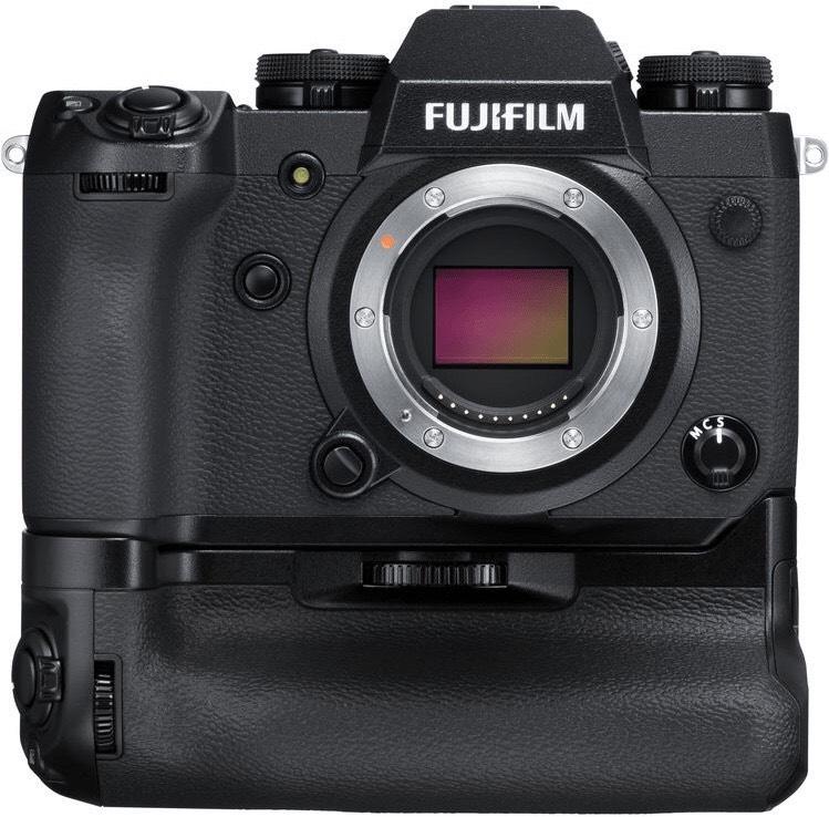 Fujifilm X-H1 Systemkamera inkl. Batteriegriff & zwei Extraakkus