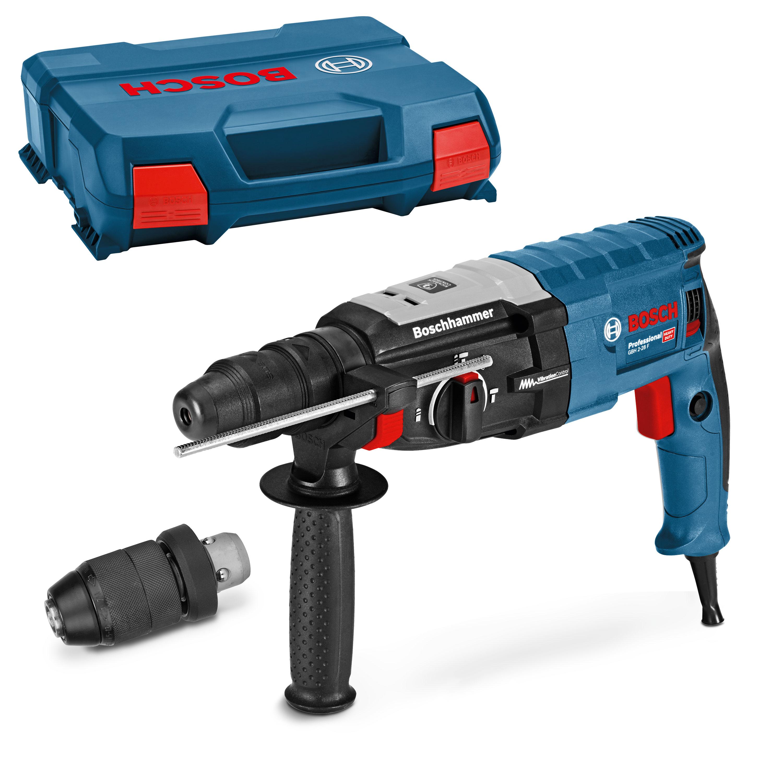 Bosch Professional GBH 2-28 F m. Handwerkerkoffer, SDS Wechselfutter (mit Newslettergutschein 176,99€)