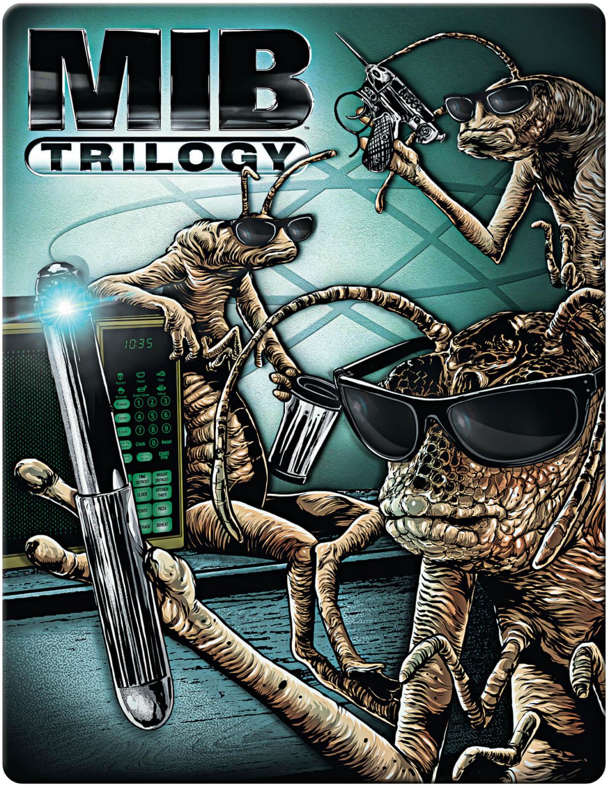 Men in Black Trilogy 4K Limited Steelbook Edition (4K UHD + Blu-ray) für 14,99€ (Zavvi)