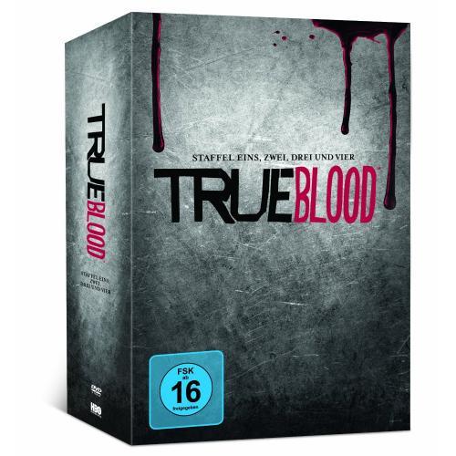 True Blood Staffel 1-4 (+ Comic und Kochbuch) (exklusiv bei Amazon.de) für 38,97€