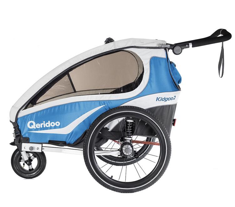 Qeridoo Kidgoo2 Fahrradanhänger Modell 2018