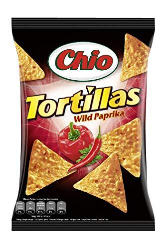 Chio Tortilla Chips Wild Paprika, 10er Pack (10 x 125 g)