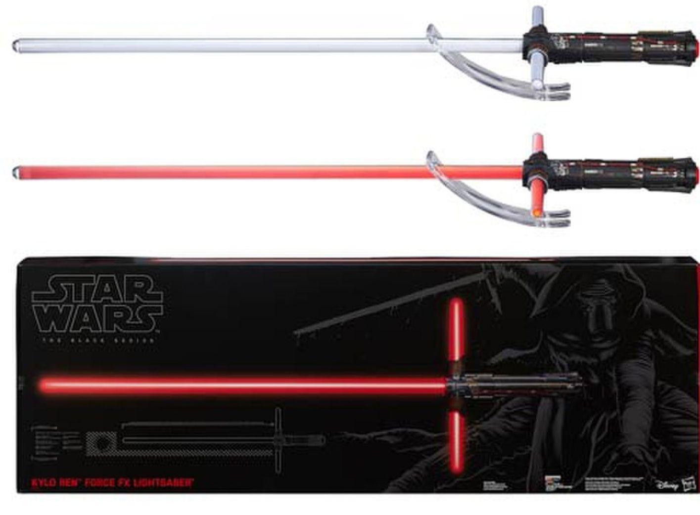 Star Wars The Black Series Force FX Lichtschwert Kylo Ren oder Darth Maul