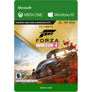 Forza Horizon 4: Ultimate Edition (Xbox One/PC Digital Code Play Anywhere) für 28,62€ (Best Buy US)