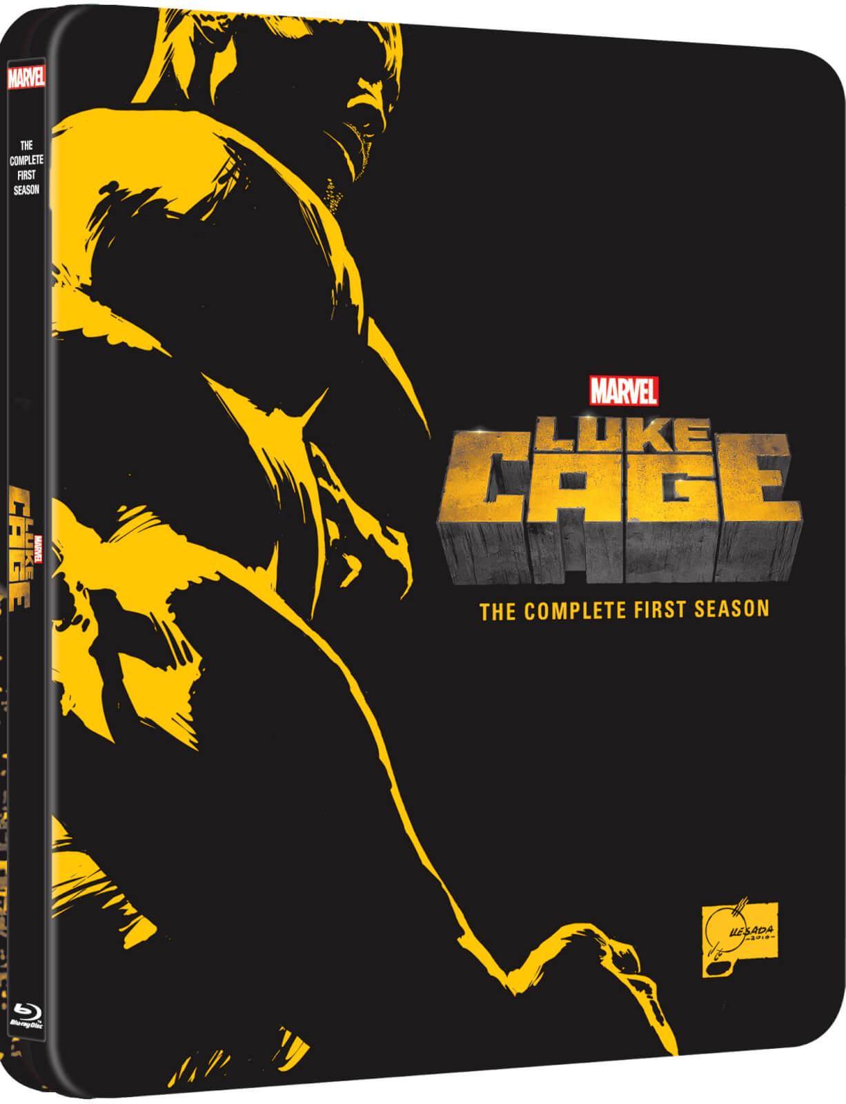 Marvel's Luke Cage: Staffel 1 - Limited Edition Steelbook (Blu-ray) für 10,99€ inkl. Versand (Zavvi)