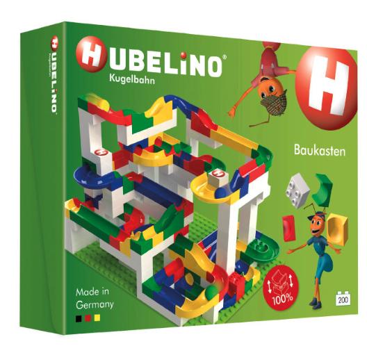 Hubelino Kugelbahn Baukasten, 200 Teile bei [Babymarkt]