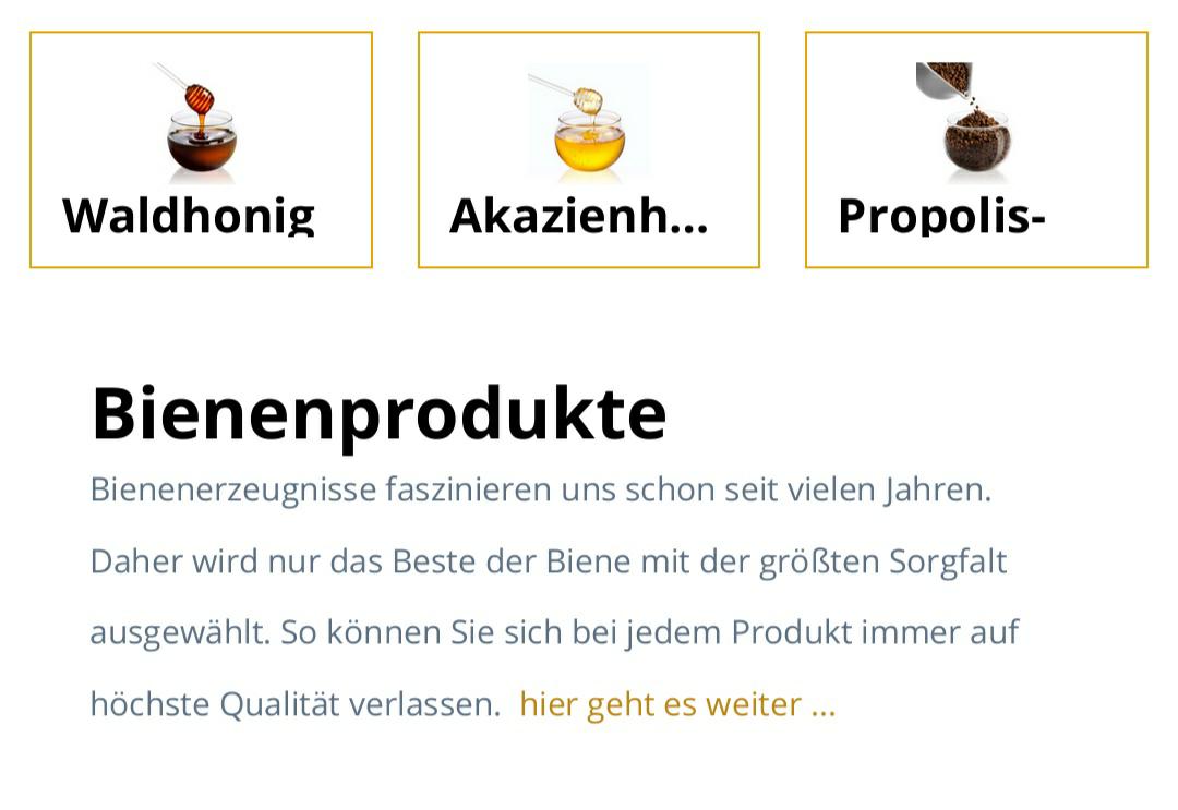 [lipps-welt.de] Honig, Manuka, Honigprodukte, Naturkosmetik 20% Rabatt