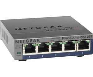 Netgear GS105E-200PES 5-Port Smart Managed Plus Gigabit Switch mit IGMPv3
