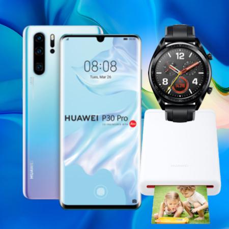 Telekom Magenta Mobil S + Huawei P30 Pro + Huawei Watch GT + Huawei Fotodrucker für 49€ ZZ: z.B. Young & MagentaEINS (11GB LTE) für 687,75€