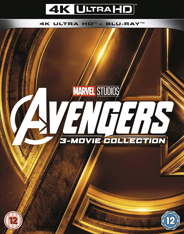 [Amazon UK] Avengers - Collection - 3 Filme mit Infinity War - 4K / UHD Bluray