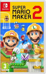 Super Mario Maker 2 (Nintendo Switch) + Dragon Quest Builders 2 (Nintendo Switch) für 74,31€ (Amazon UK)