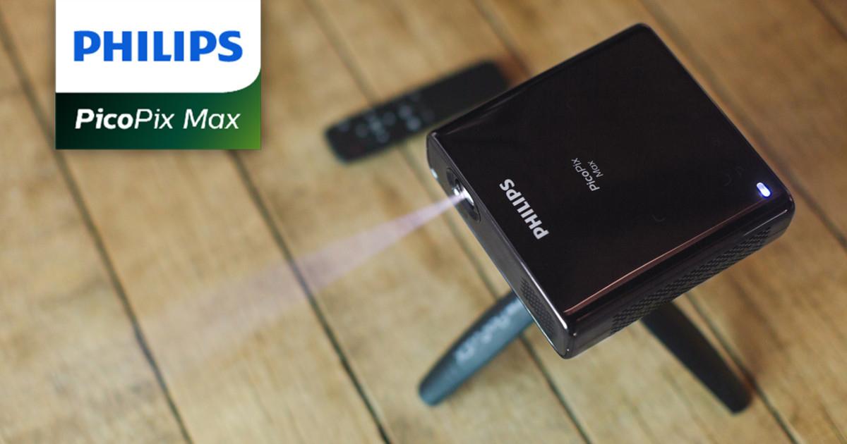 Philips PicoPix Max - 1080p Full HD Pico Beamer (Indiegogo)