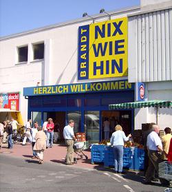 [Lokal Aurich] 20% Nachlass auf alles und 30% auf Möbel im Nix wie hin Sonderpostenmarkt