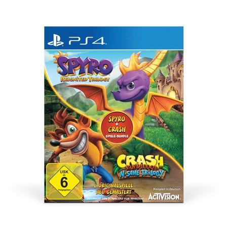 Spyro: Reignited Trilogy + Crash Bandicoot: N-Sane Trilogy