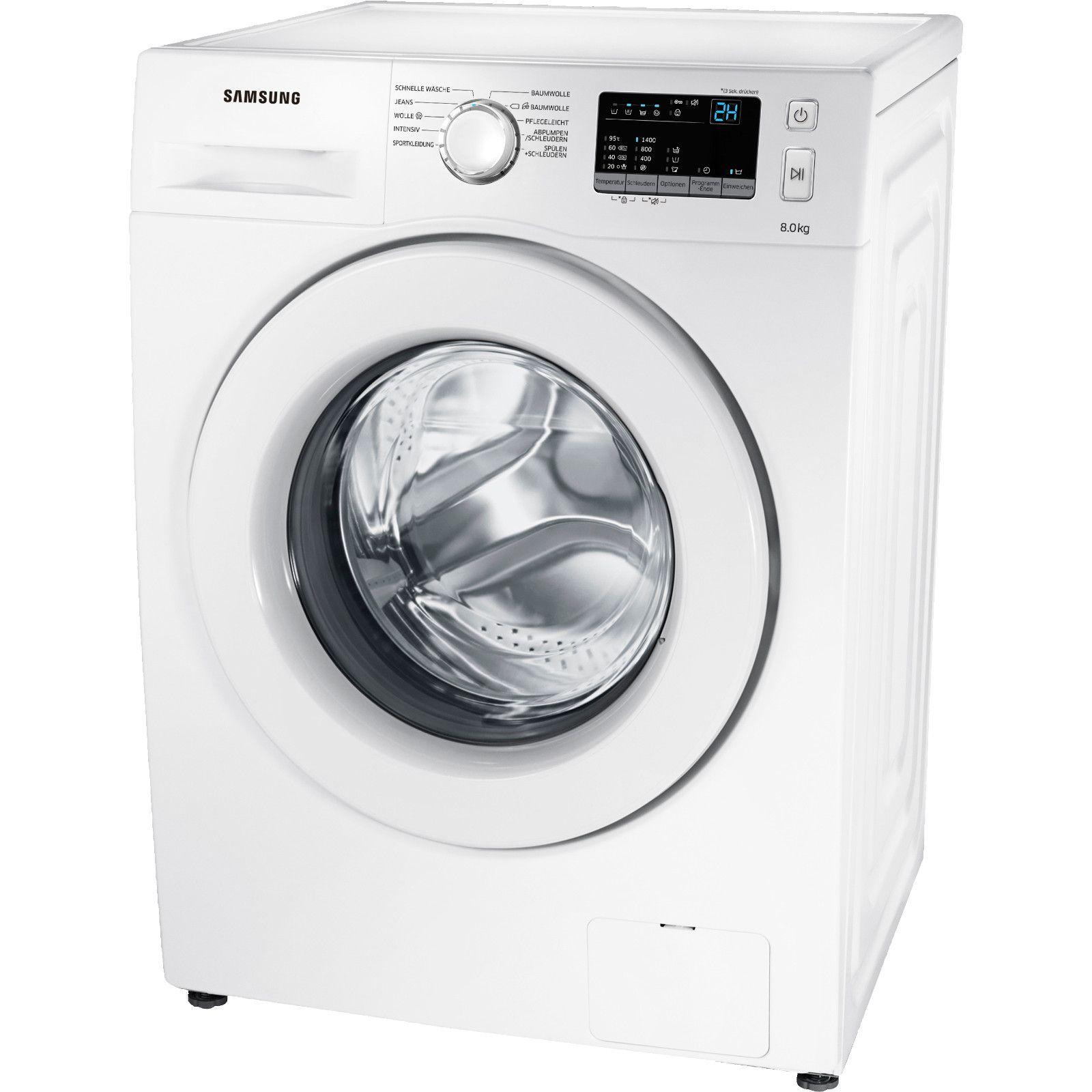 [MediaMarkt] SAMSUNG WW 80 J 34 D0KW/EG Waschmaschine (8 kg, 1400 U/Min., A+++) - bei Selbstabholung