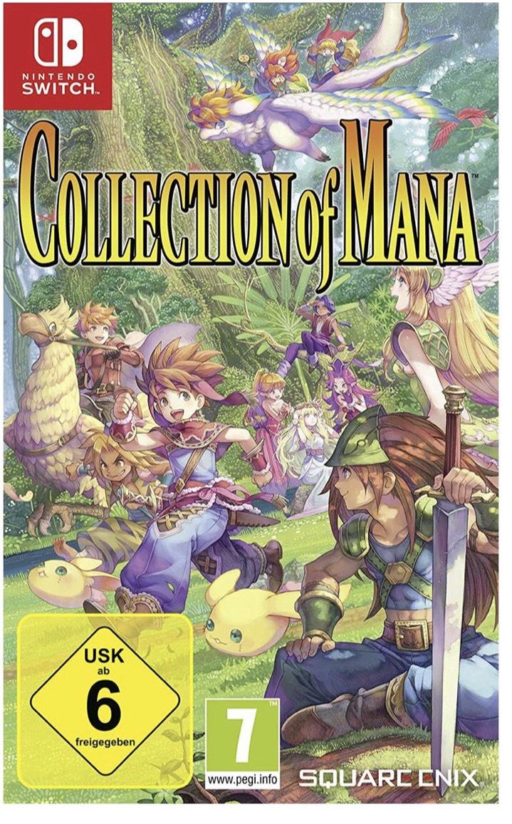 Collection of Mana für die Nintendo Switch