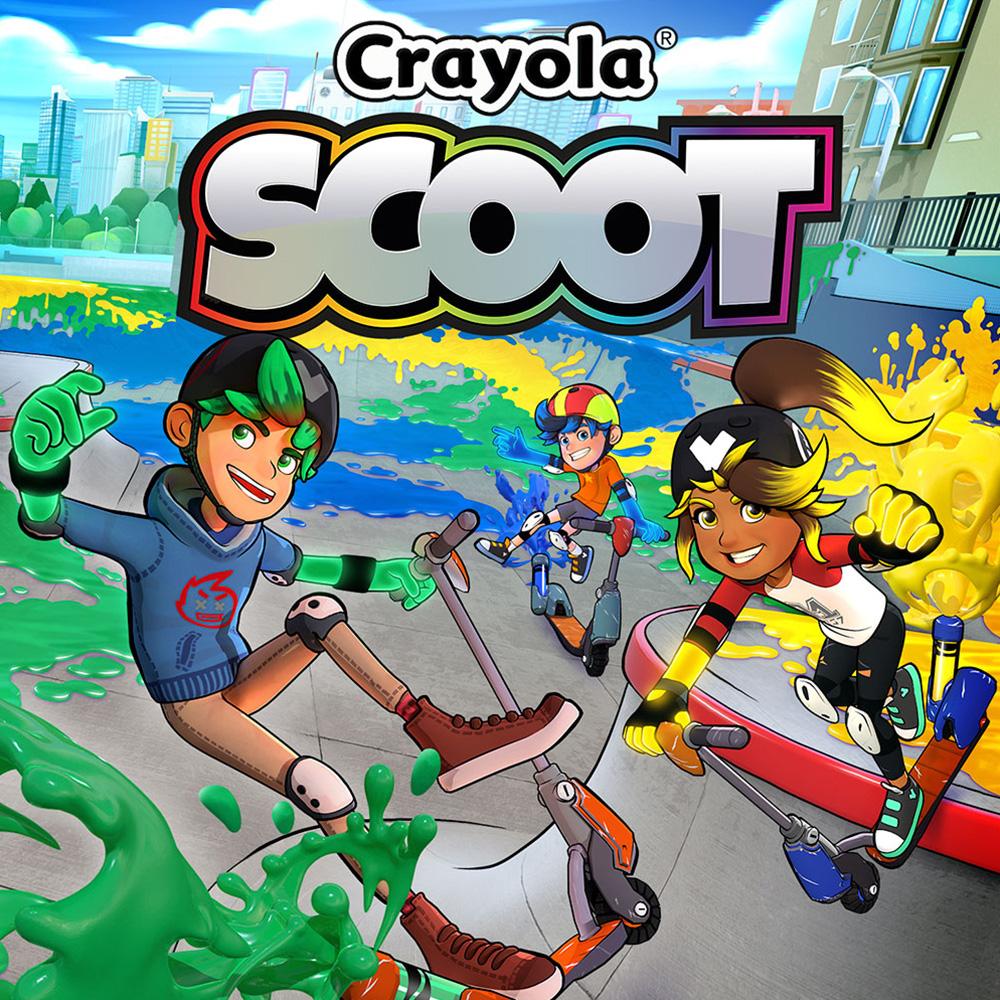 Crayola Scoot (Switch) für 2,99€ oder für 2,60€ Mexiko (eShop)