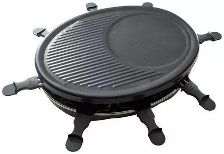 Elektrischer Raclette-Grill für bis zu 8 Personen