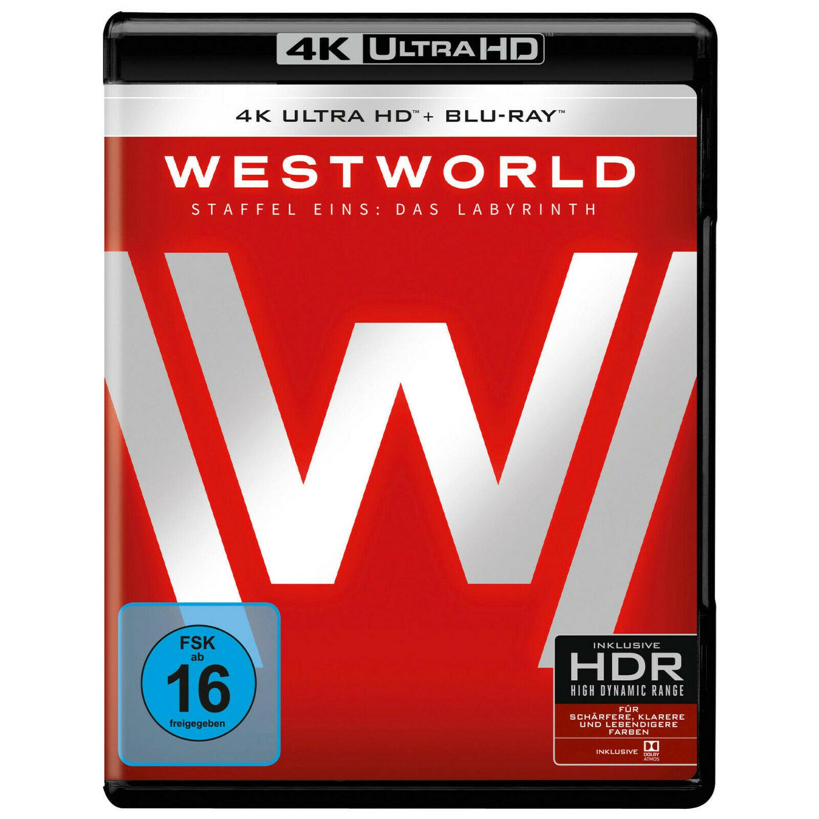 Westworld - Staffel Eins: Das Labyrinth 4K (4K UHD + Blu-ray) für 24,97€ (Amazon Prime)