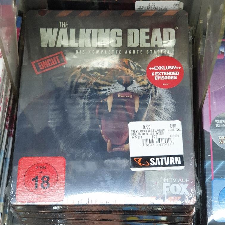 [Lokal] Saturn Berlin Eastgate The Walking Dead Staffel 8 Blu ray Steelbook 9.99€