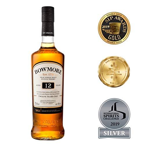 Bowmore 12 Jahre 40% 0,7l Single Malt Whisky mit Amazon Prime
