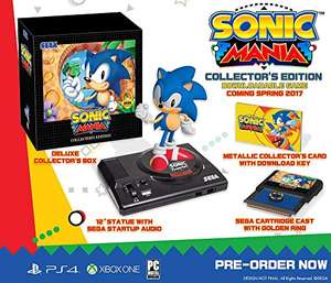 Sonic Mania: Collectors Edition (Xbox One) für 44,56€ & (PS4) für 50,55€ (Amazon FR)