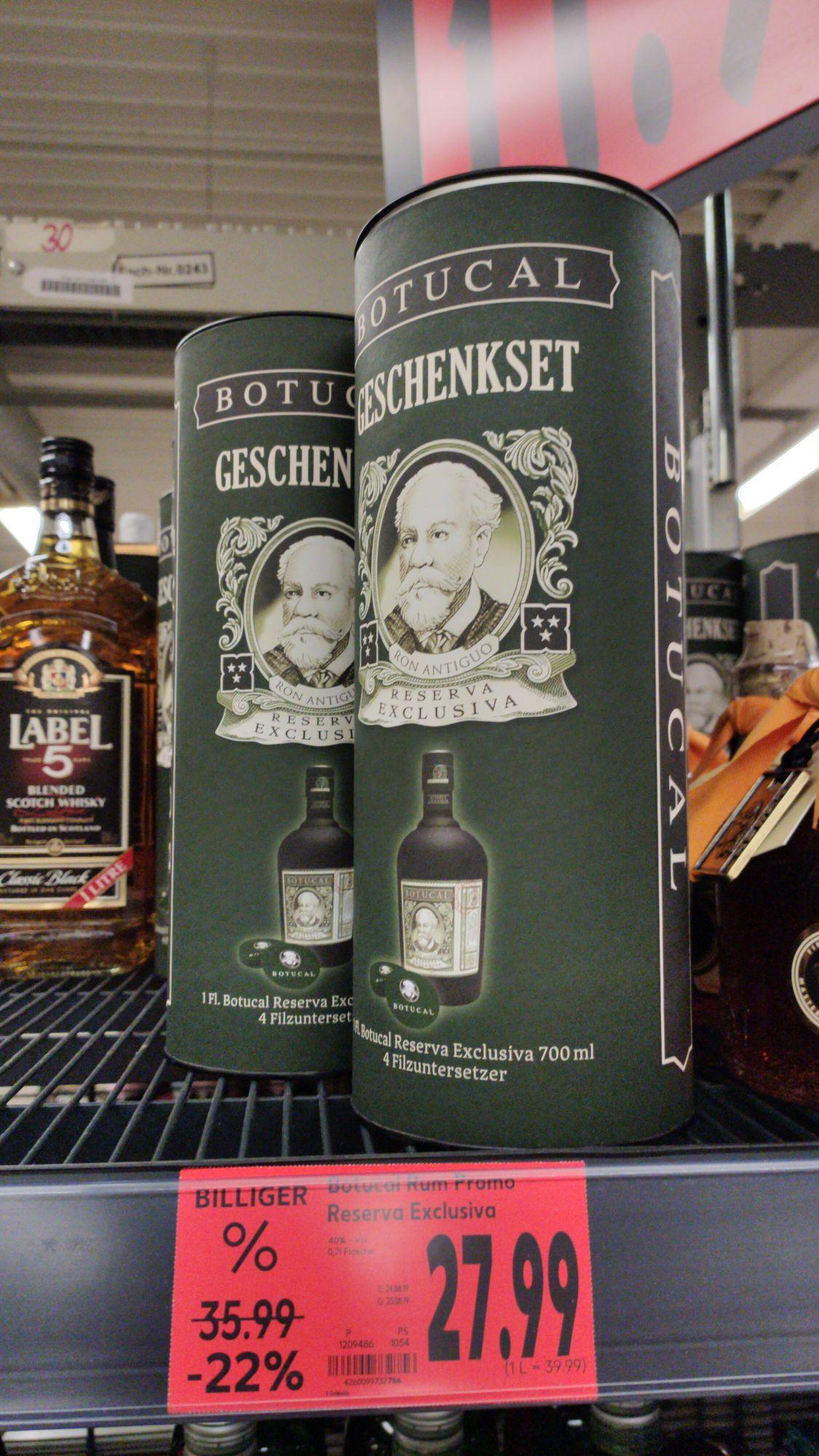 [Lokal Friedrichshafen] Botucal Rum Reserva Exclusiva bei Kaufland