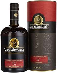 Bunnahabhain 12 Jahre Single Malt Whisky 0,7l 46,3% / Talisker Storm 29€ bei [Real.de / Amazon]