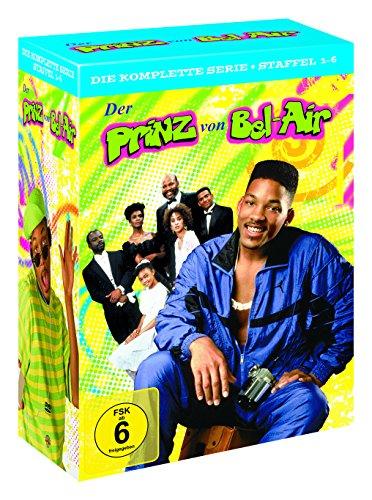Der Prinz von Bel-Air Die komplette Serie Staffel 1-6 Limited Edition (23 DVDs) [Amazon]