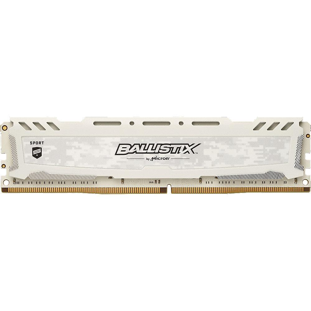 Ballistix TM Sport LT 8GB und 16GB DDR4-3200 CL16