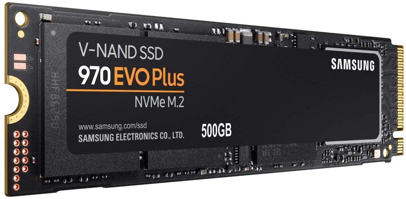 Samsung 970 Evo Plus 500GB M.2 SSD [Amazon]