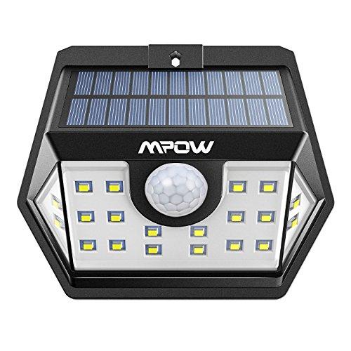 Mpow Solarleuchte mit Bewegungsmelder 4 Stück