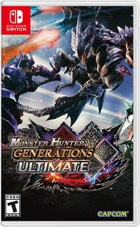 Monster Hunter Generations Ultimate (Switch) für 22,22€ (eShop US)