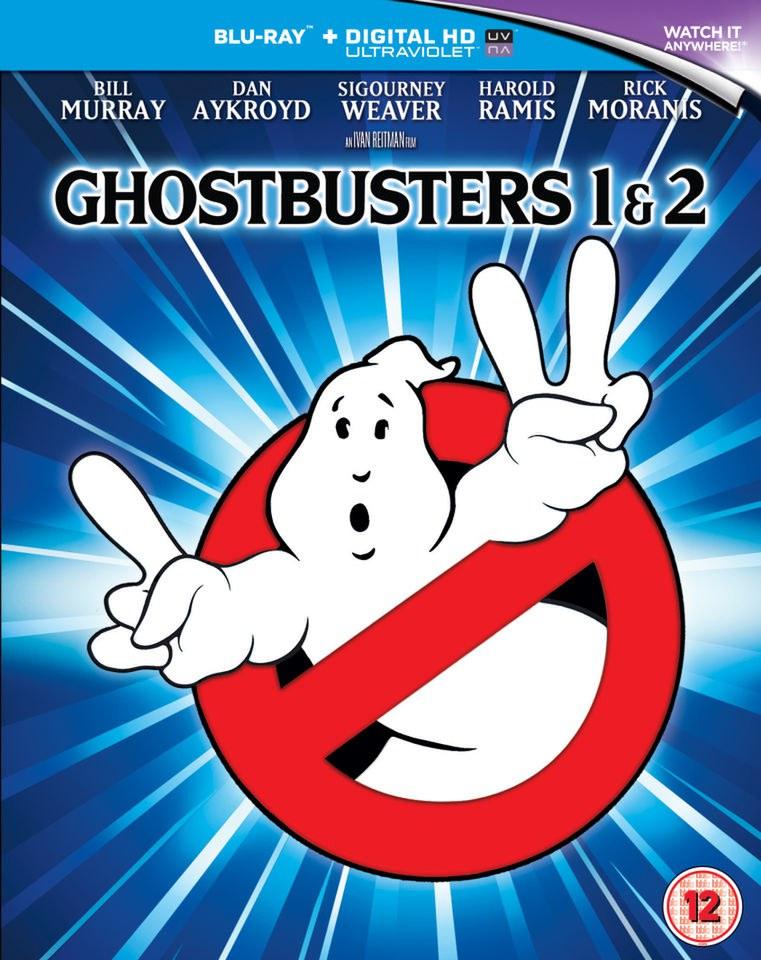 Ghostbusters 1 & 2 (Mastered in 4K Blu-ray) für 5,03€ (Zoom UK)