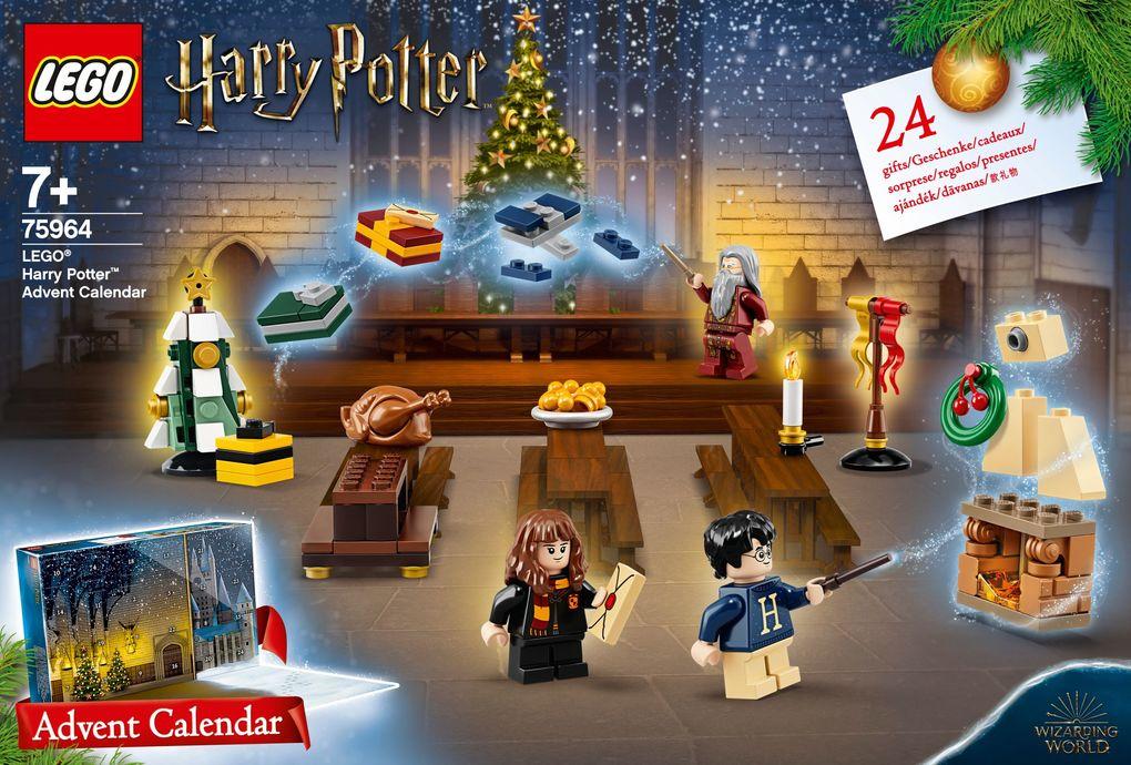 [galeria-kaufhof.de, buecher.de] LEGO Harry Potter Adventskalender (75964) 3 Stück 53,93 € (bzw 21,24 € einzeln) inkl. Versand