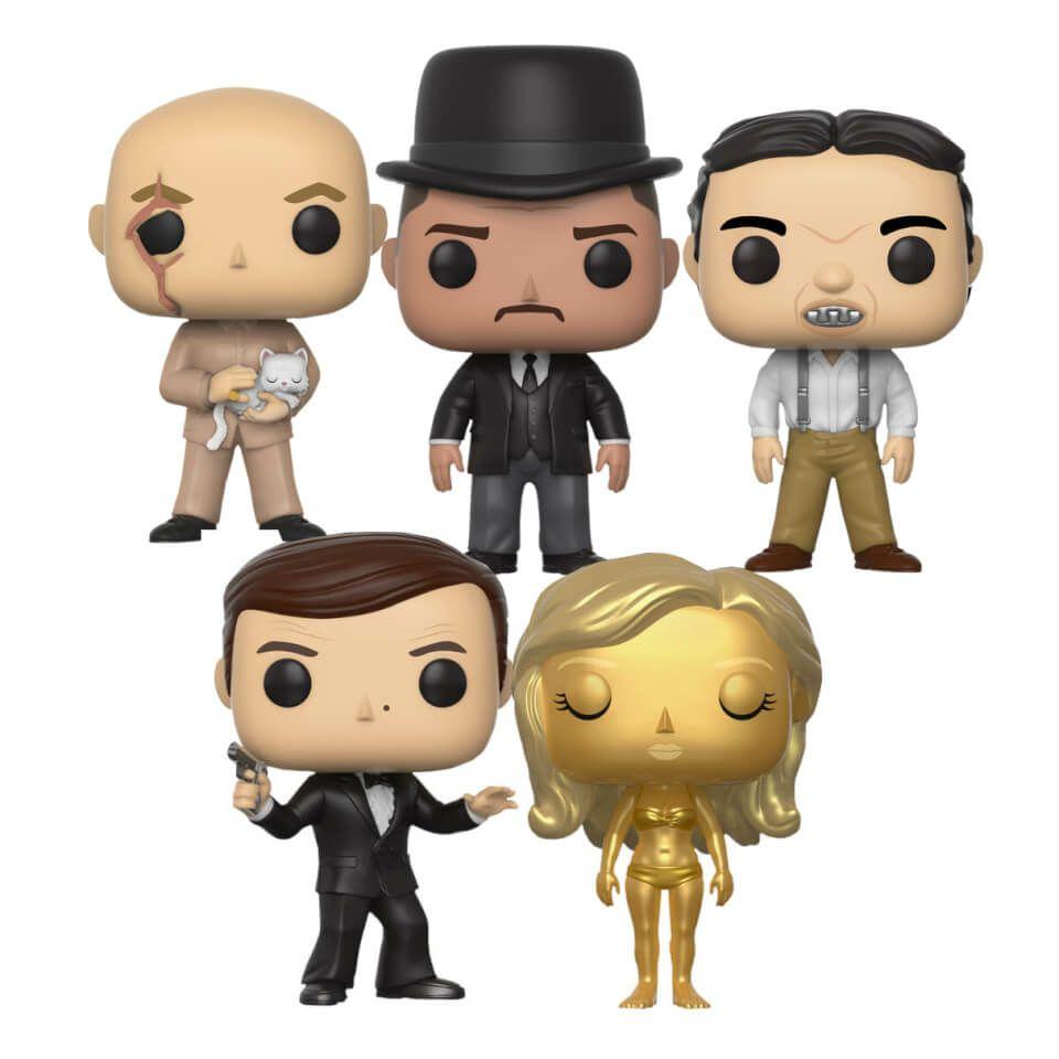 5 James Bond Pop! Vinyl Collection Figuren - 3.18€ / Figurine (Zavvi)