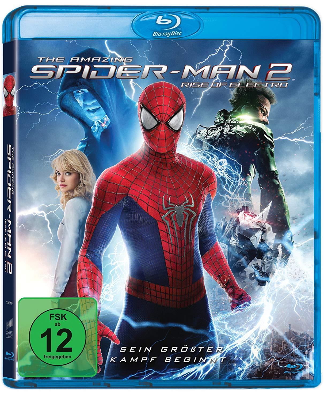 The Amazing Spider-Man 2: Rise of Electro (Blu-ray) & Ziemlich beste Freunde (Blu-ray) für je 3,68€ (Dodax)