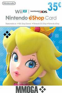 [eBay] 35€ Nintendo eShop Guthaben für 29,38€