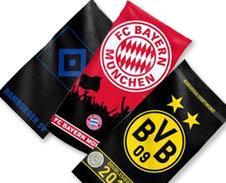 Bis zu 50% Rabatt auf Bundesliga - Fanartikel + 10% extra od. 3€ @ Mein Paket