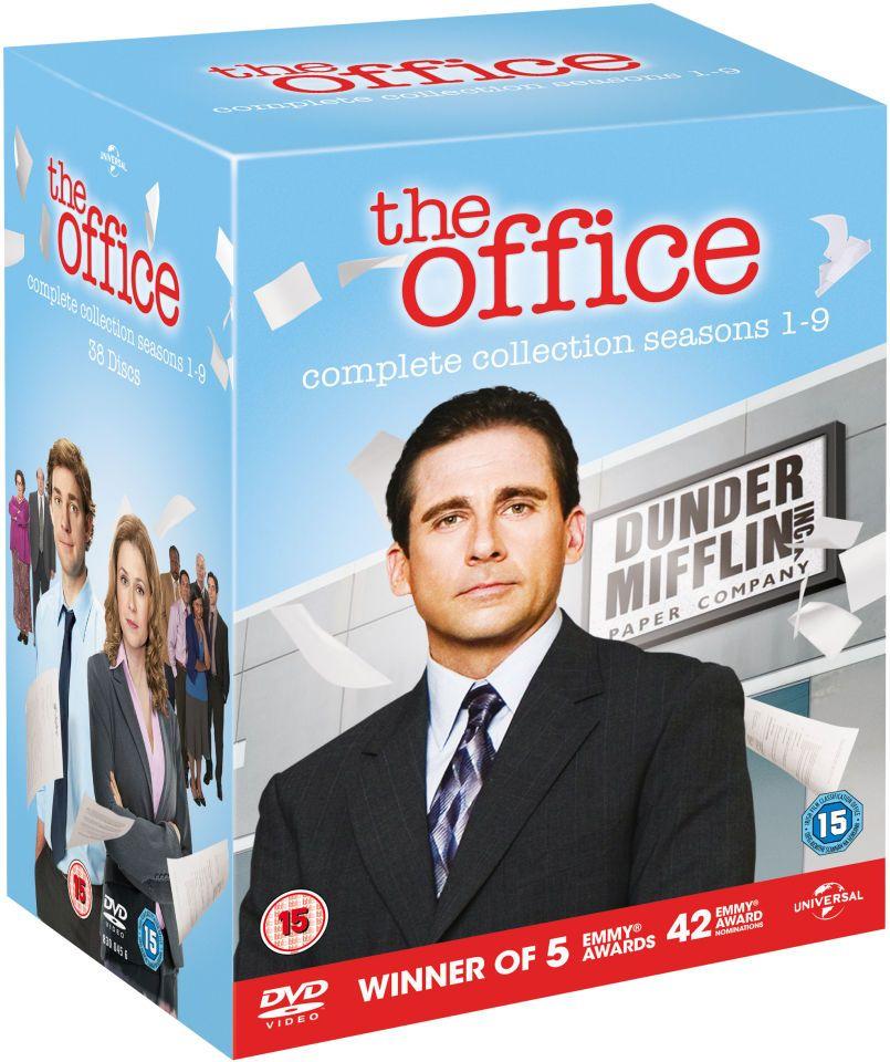 The Office (US) Komplette Serie DVD - Staffel 1 bis 9 - nur Englisch, keine deutsche Tonspur/Untertitel